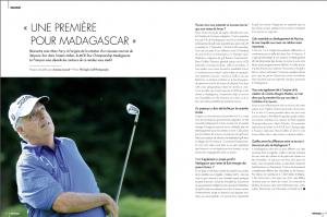 UNE PREMIERE POUR MADAGASCAR – Fairways Magazine octobre 2019