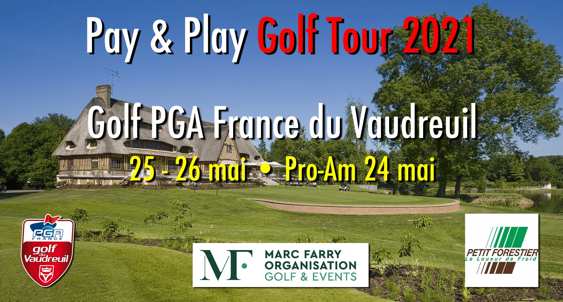 PPGT 2021 Pro Golf PGA France Le Vaudreuil